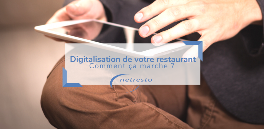 digitalisation restaurant netresto