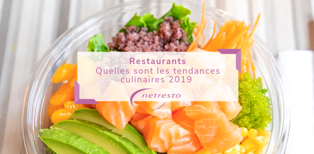 TENDANCES FOOD 2019
